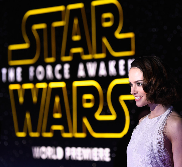 """Actress Daisy Ridley plays """"Rey"""" in the latest Star Wars (photo by Frazer Harrison)"""
