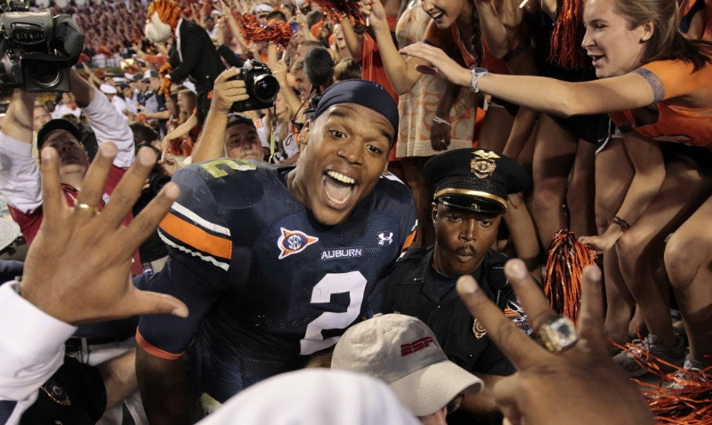 Cam Newton led a larger-than-life existence at Auburn University