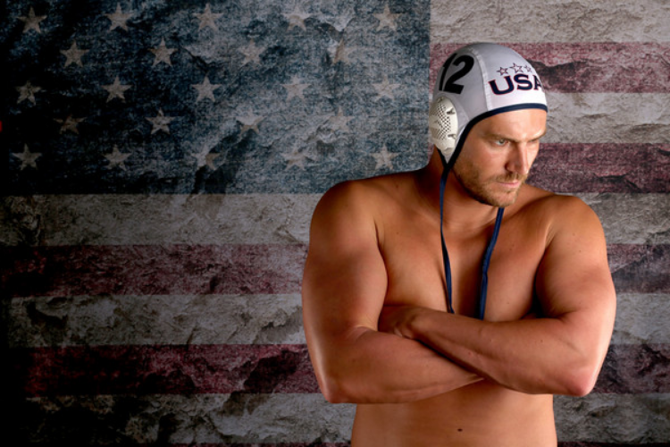 John Mann poses with his USA polo cap earlier this year. (photo by Sean Haffey)