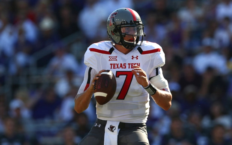 Quarterback Davis Webb will play this fall for CAL as a graduate transfer. He is considered by some to be the best senior QB in America. (photo by Ronald Martinez)