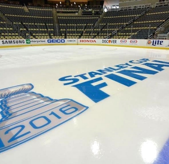 The Sharks will take the ice at the Consol Energy Center in Pittsburgh for Game 1 on Monday night.