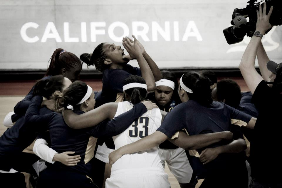 Three of Cal's players have had family members slain by gunfire (McClureImages.com)