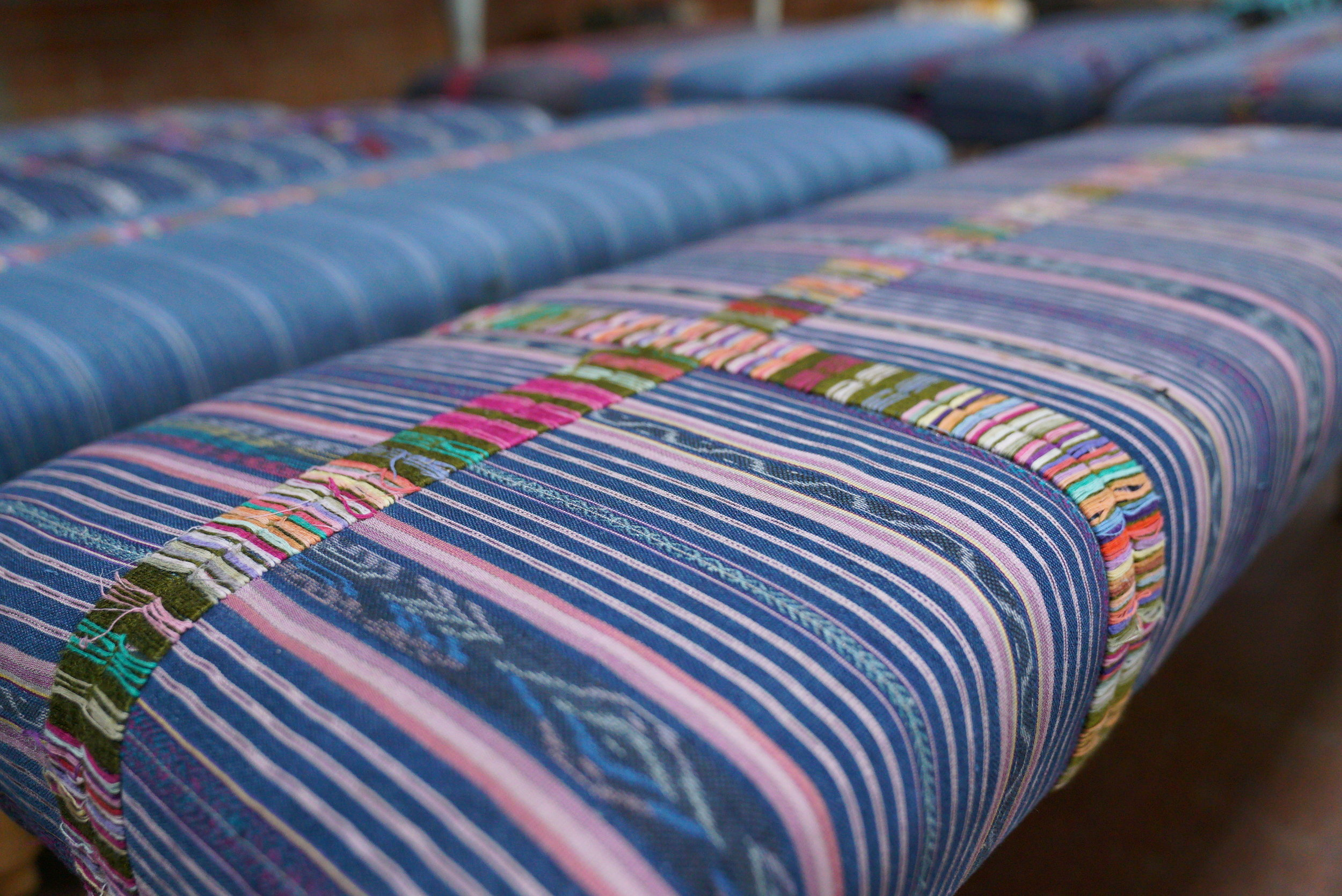 Upholstered Benches Closeup.JPG