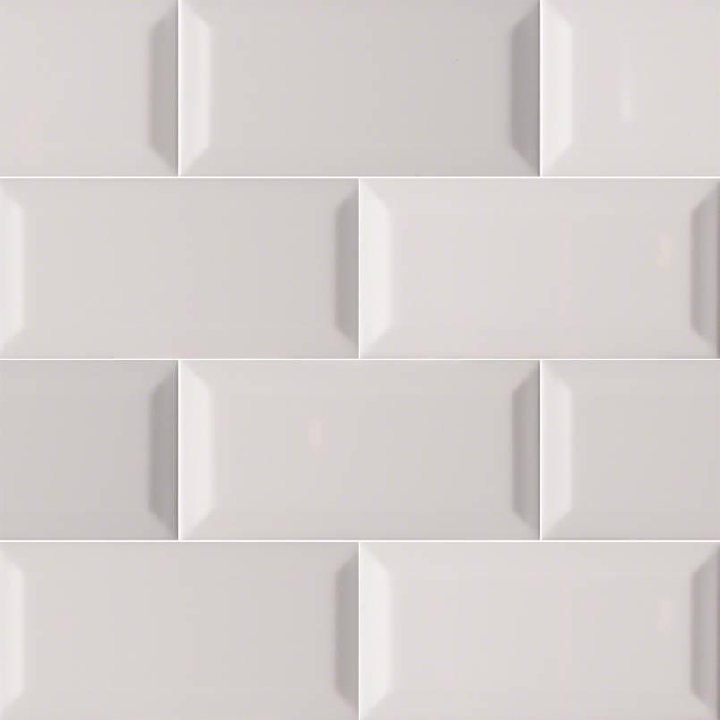 Beveled 3x6 Gray