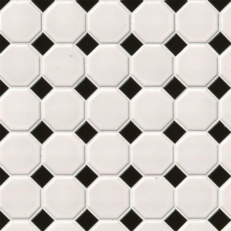 White & black Octagon