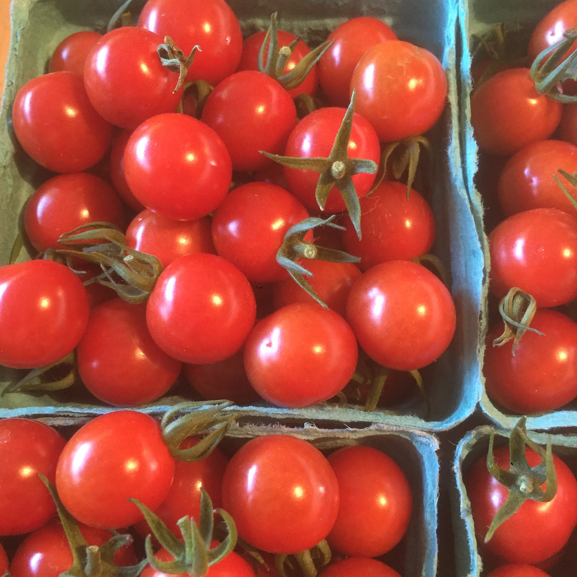 Our red cherry tomatoes are pretty good too.