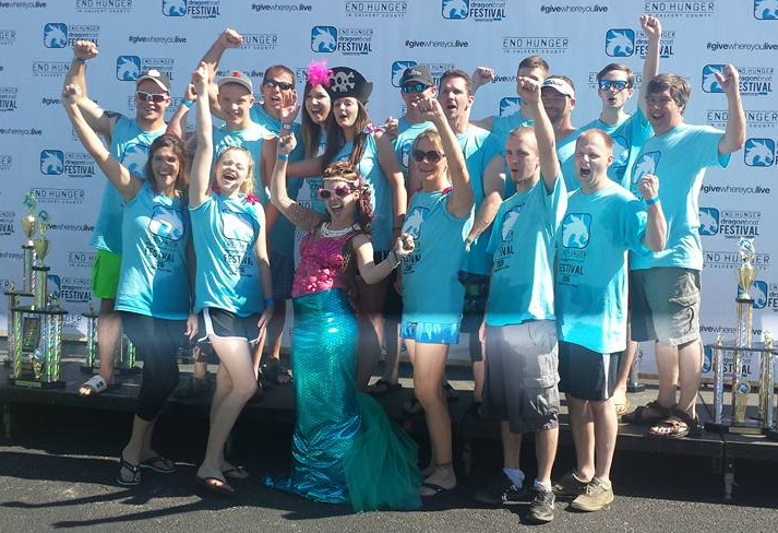 2016 Mussels & Mermaids Team Photo