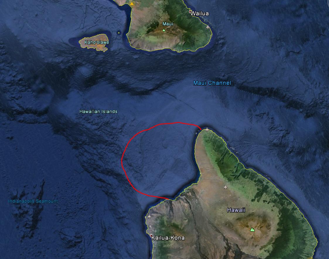 Puako Bay - Shakedown Cruise