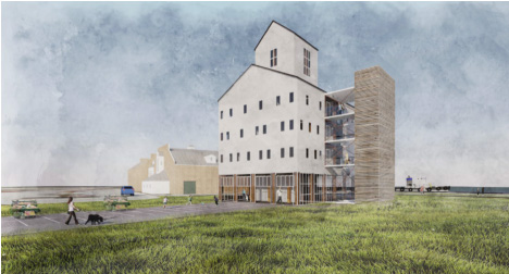 Image: The Kubala Washatko Architects for Hauser/Collins proposal