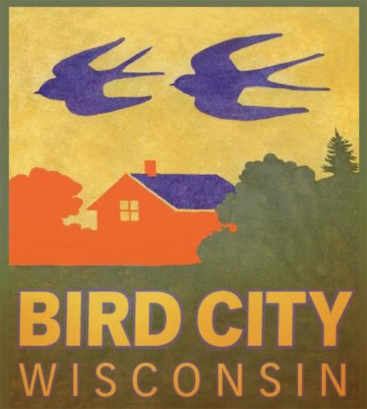 The Bird City logo, signs for a designated Bird City