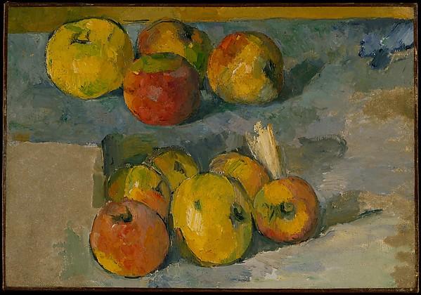 Apples , Paul Cézanne, Metropolitan Museum