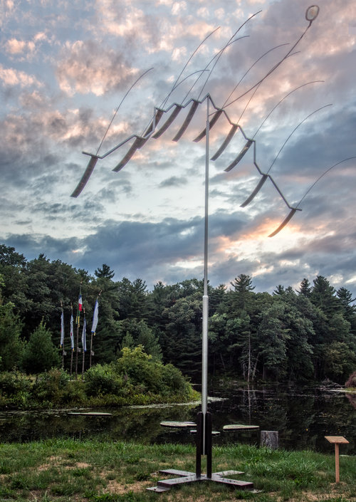WIND SCULPTURE  , MICHIO IHARA   PHOTO: BOB HESSE