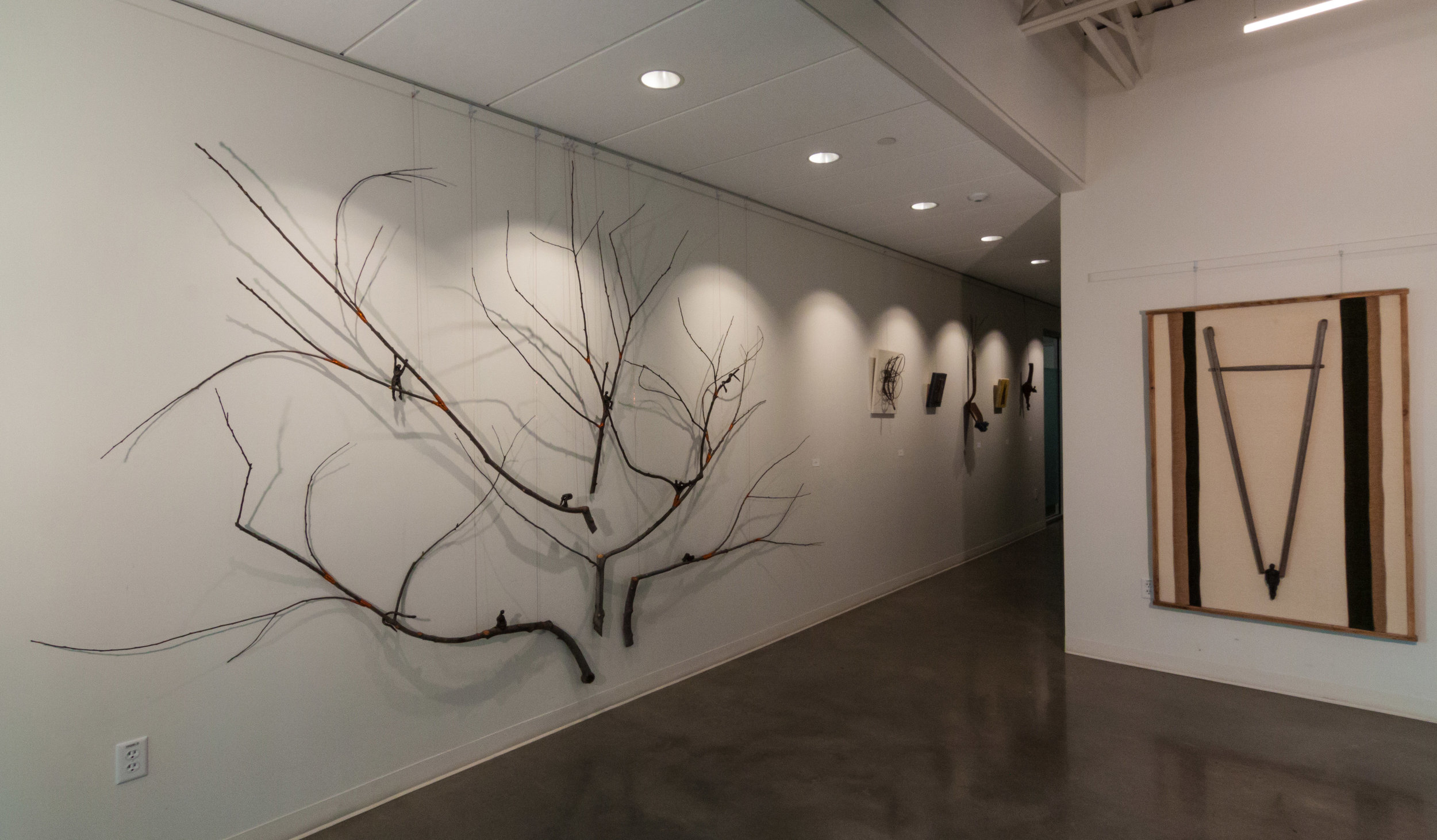 Grafting a Life (Left Wall) Linda Hoffman & Ariel Matisse