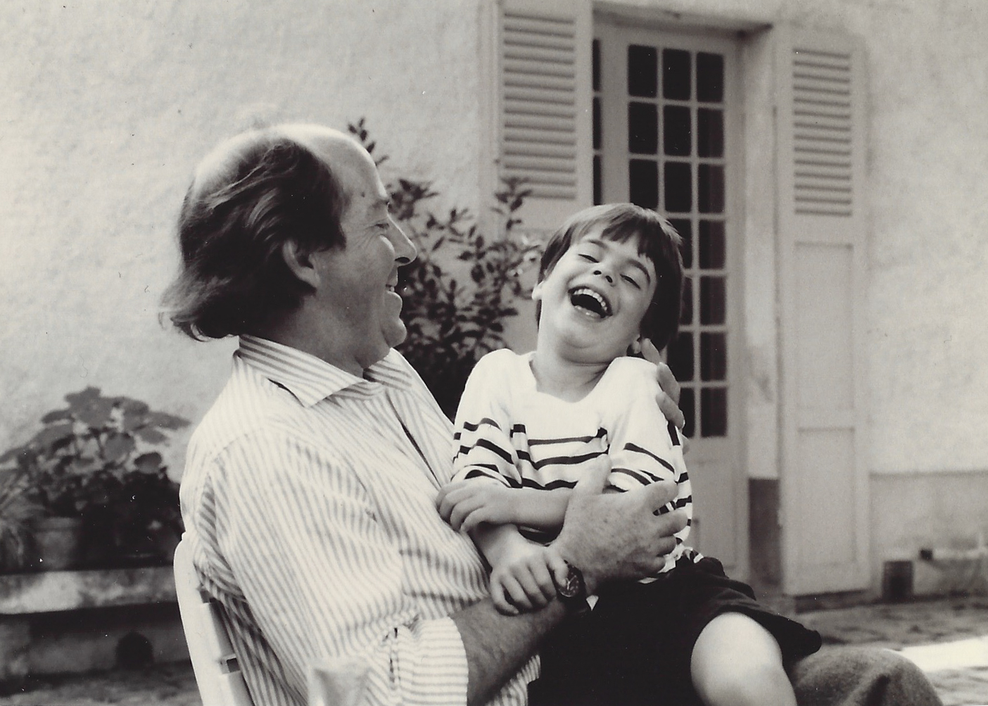 Family Photo: My son, Alex, and his Dada, 1988