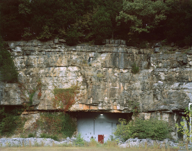 Meritex  Underground storage warehouse located in converted coal mine. Cumberland Furnace, Tennessee.