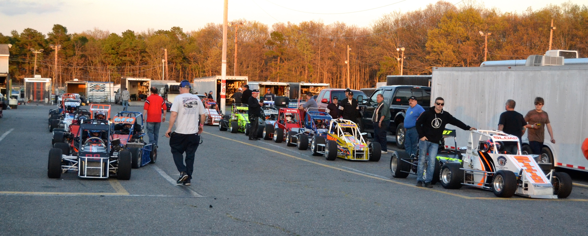 Strong field lining up for the season opener at Wall Speedway