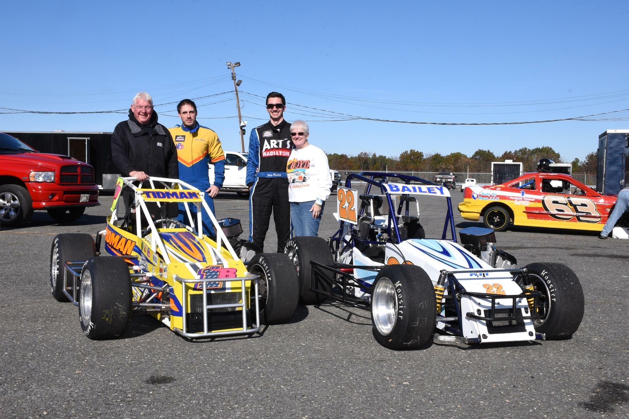 Lenny Boyd, Ryan Tidman, Joey Bailey, Donna Boyd