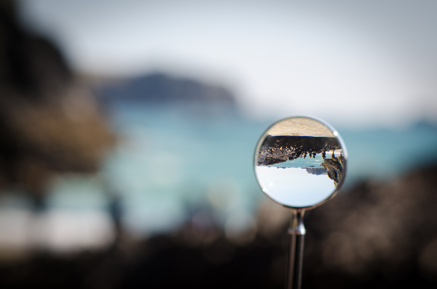 Through the looking glass at kynance cove national trust