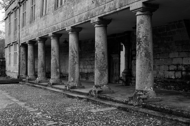 old pillars at godolphin house