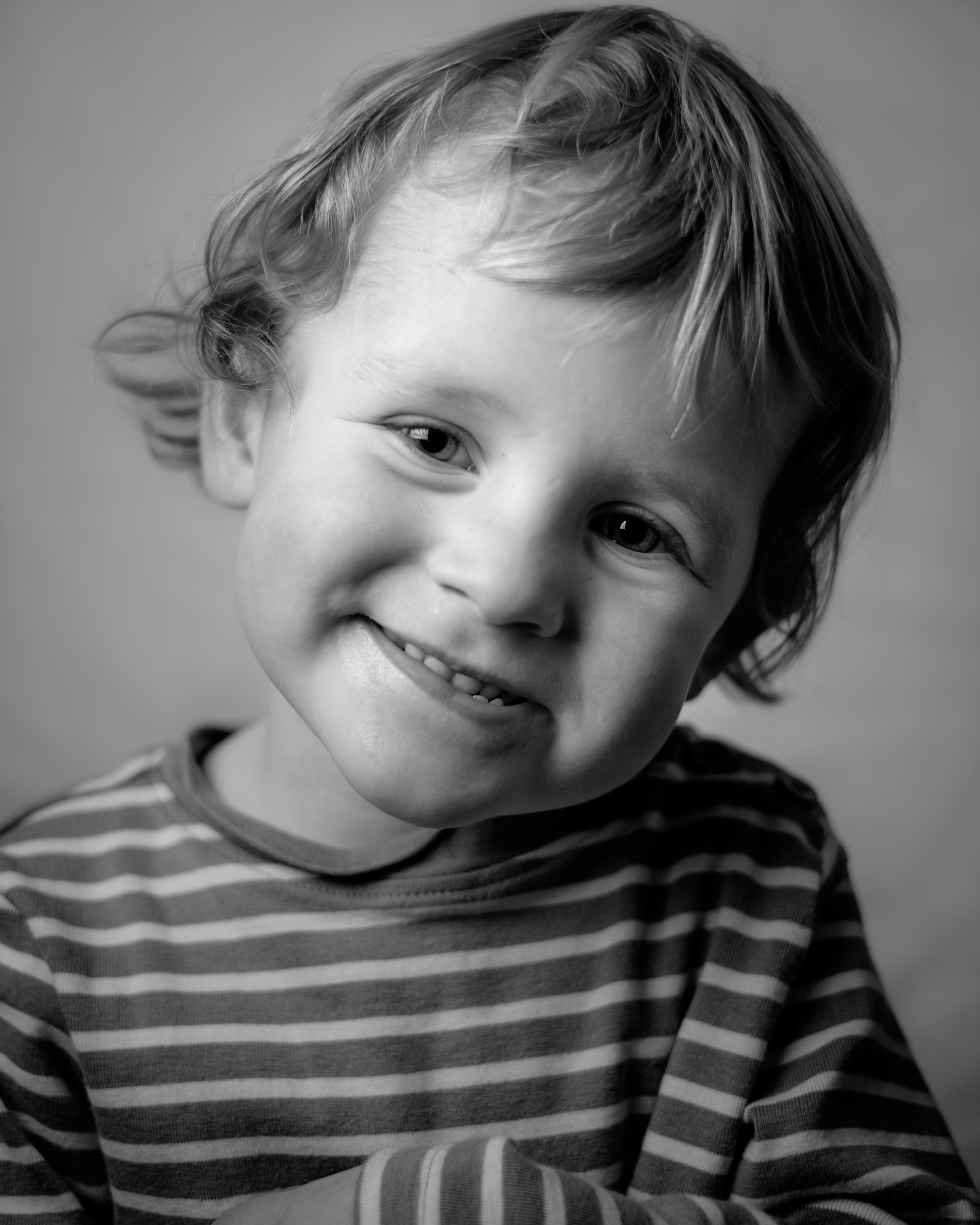 a portrait of my son