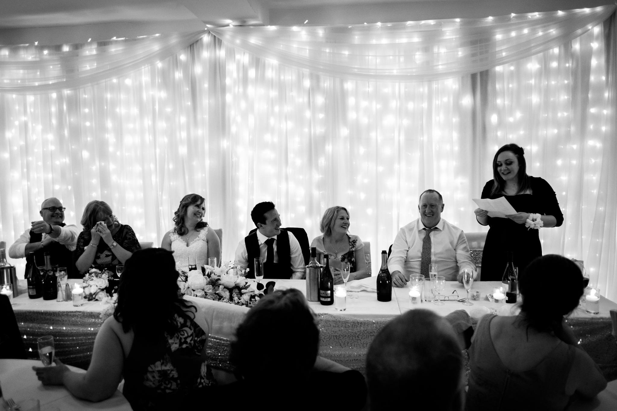 wedding speeches newquay