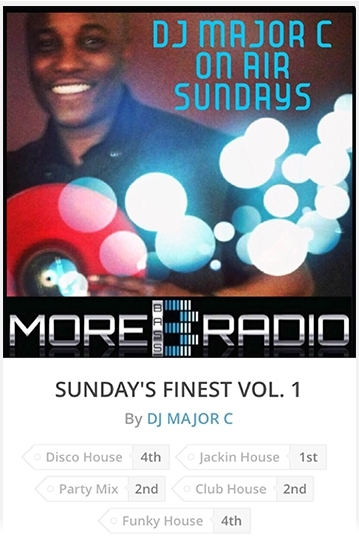 DJ Major C On Air Sundays