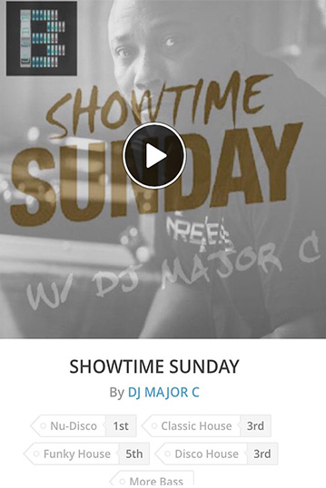 DJ Major C Showtime Sunday