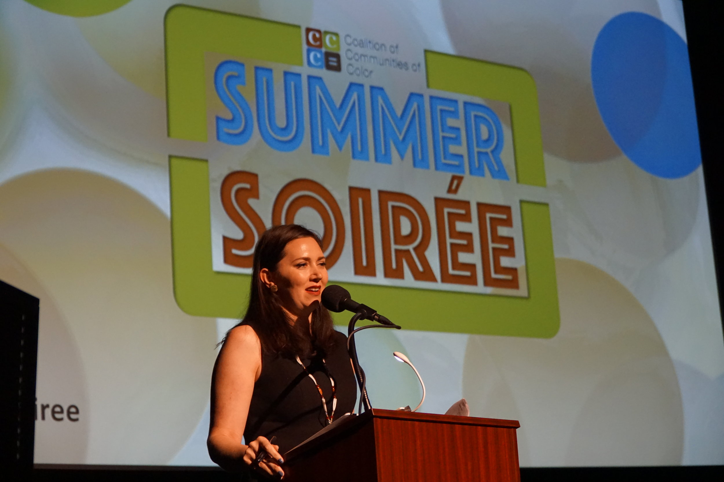 Nichole June Maher, President of Northwest Health Foundation & Co-founder of the CCC, was the emcee for the evening.