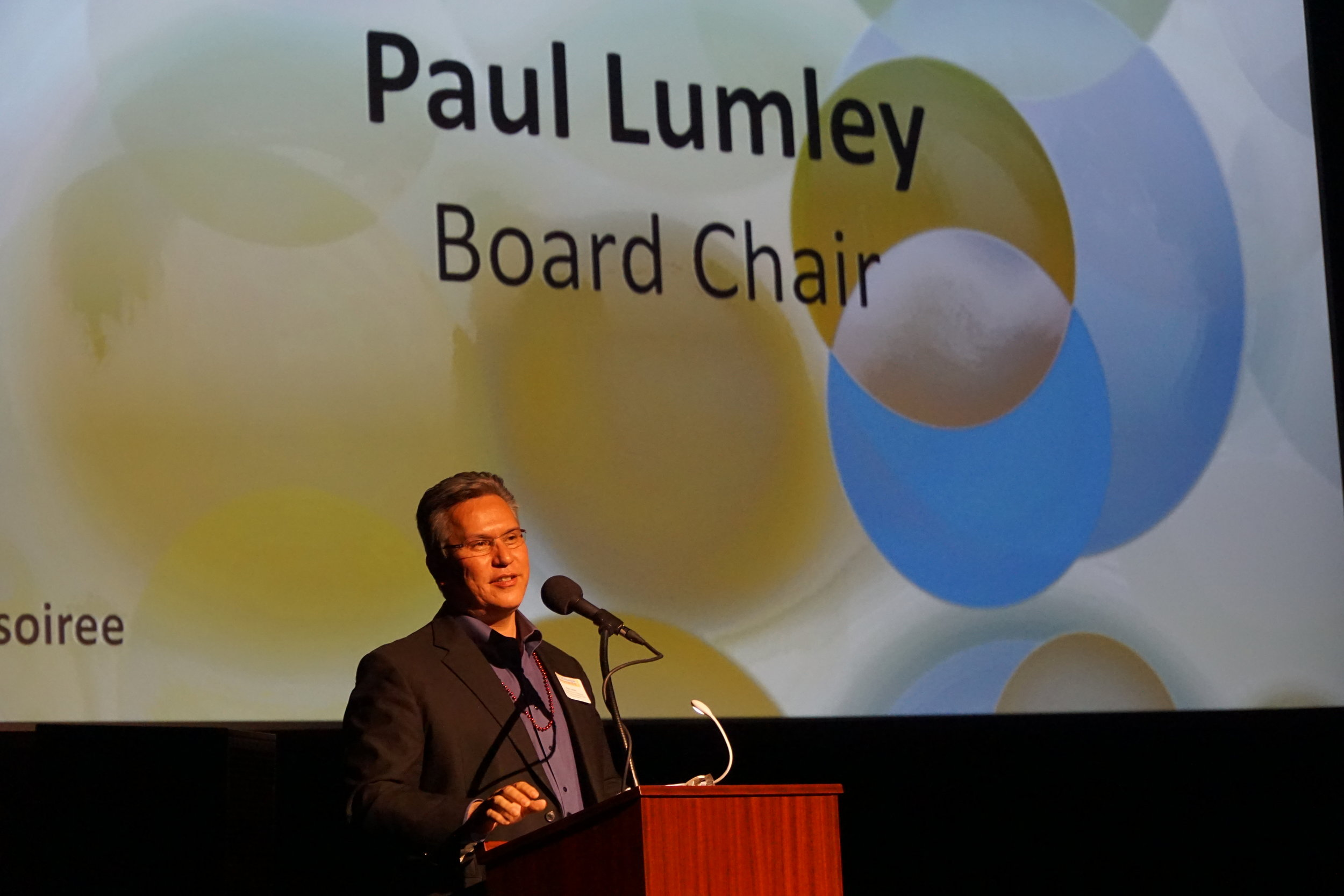 Paul Lumley, Executive Director of NAYA Family Center & CCC Board Chair