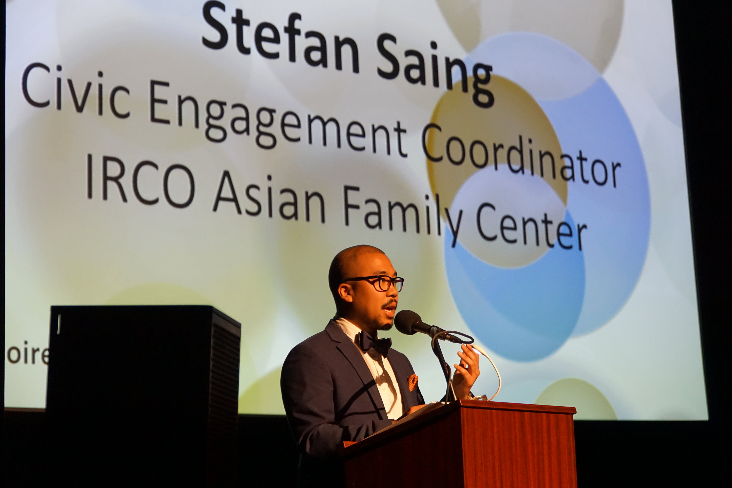 Stefan Saing, Civic Engagement Coordinator, IRCO Asian Family Center