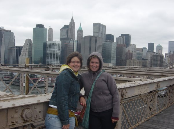NY with my sis - Getoutoftown