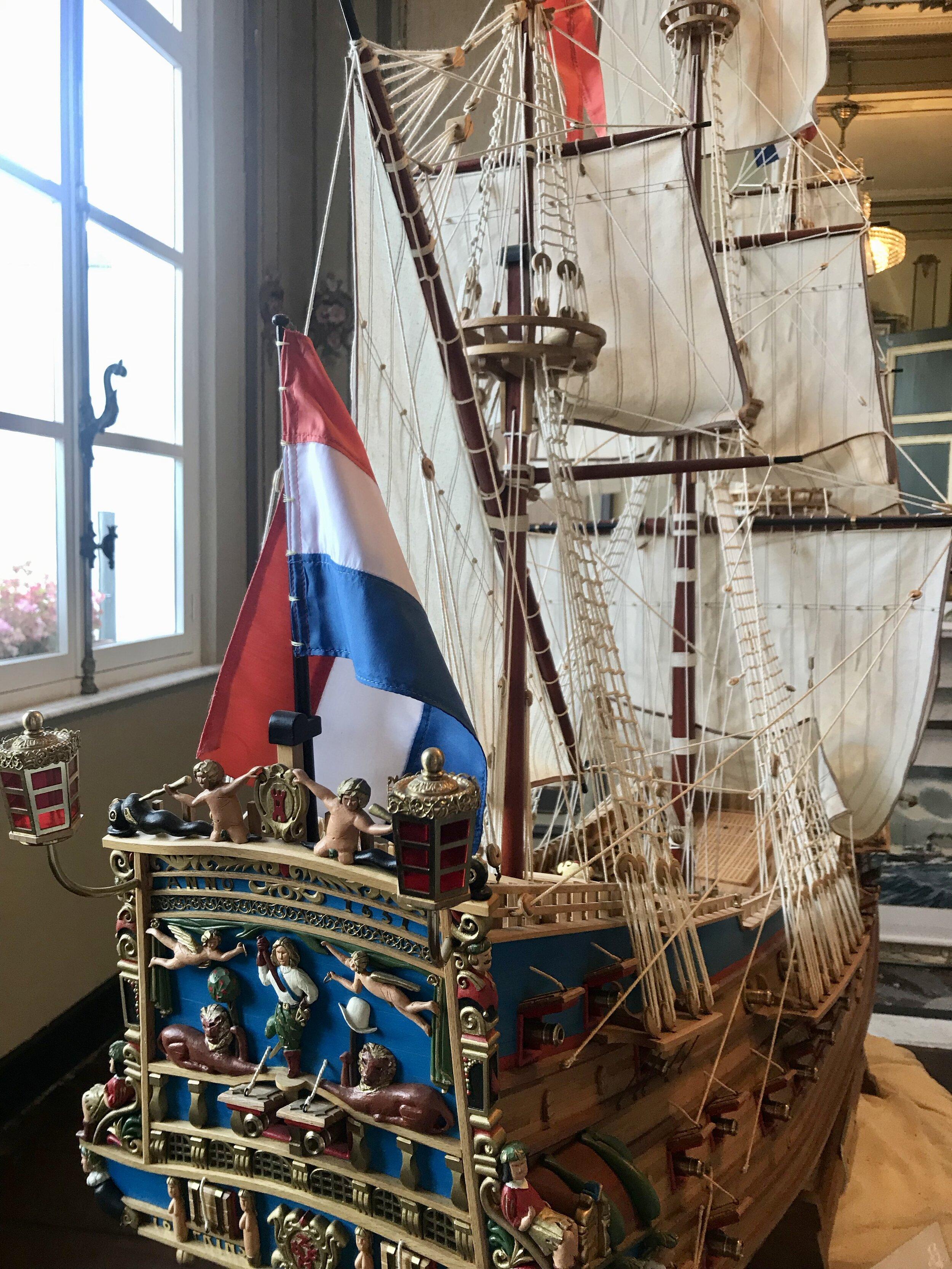maquette schip baasrode dendermonde
