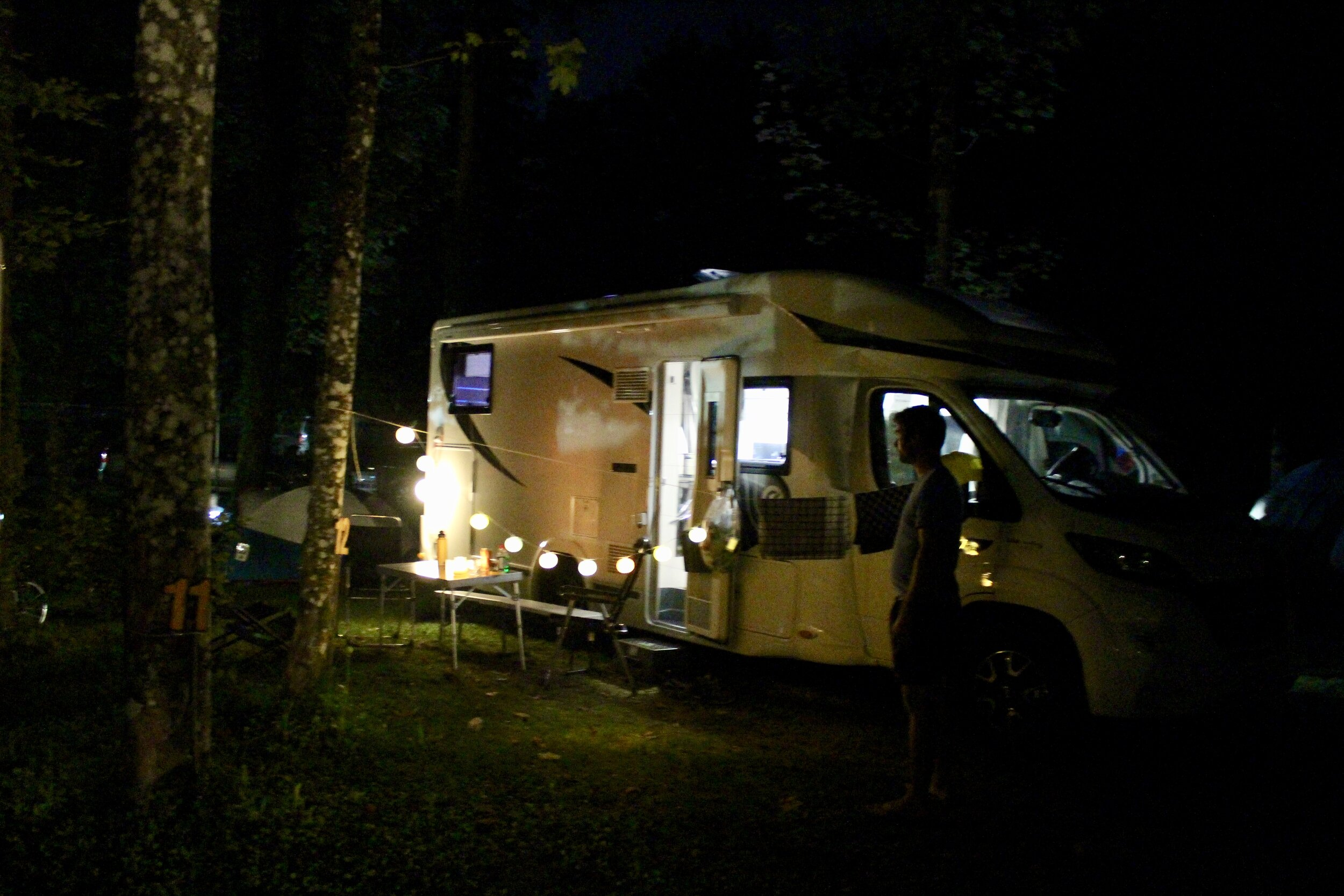 Gezelligheid op de camping. Love it!
