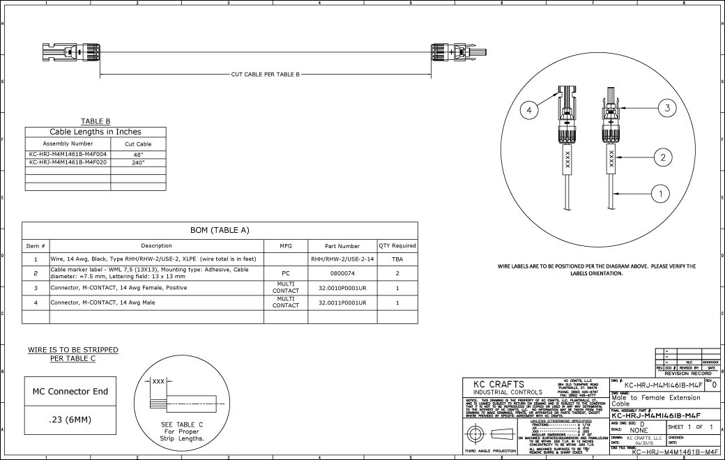 CAD Services Example 1