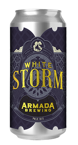 White Storm Pale Ale 6.2% 50 IBU's  Wheat Pale Ale Double Dry Hopped with Mosaic, Simcoe, and Citra.