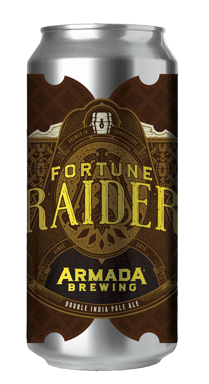Fortune Raider Double IPA 8% 95 IBUs  West Coast Style DIPA Dry Hopped with Columbus, Chinook, Simcoe.