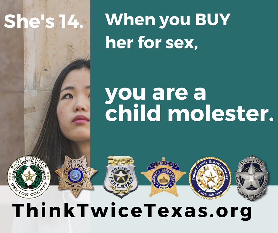 Featuring dallas, tarrant and denton law enforcement and district attorney seals.