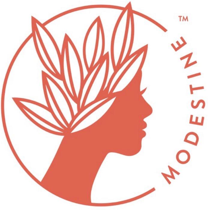 Modestine Tea Logo
