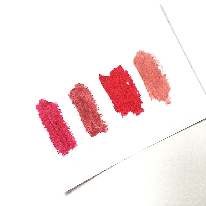 High Pigment Pencil // Winterberry, Rhubarb, Pomergranate &Sable
