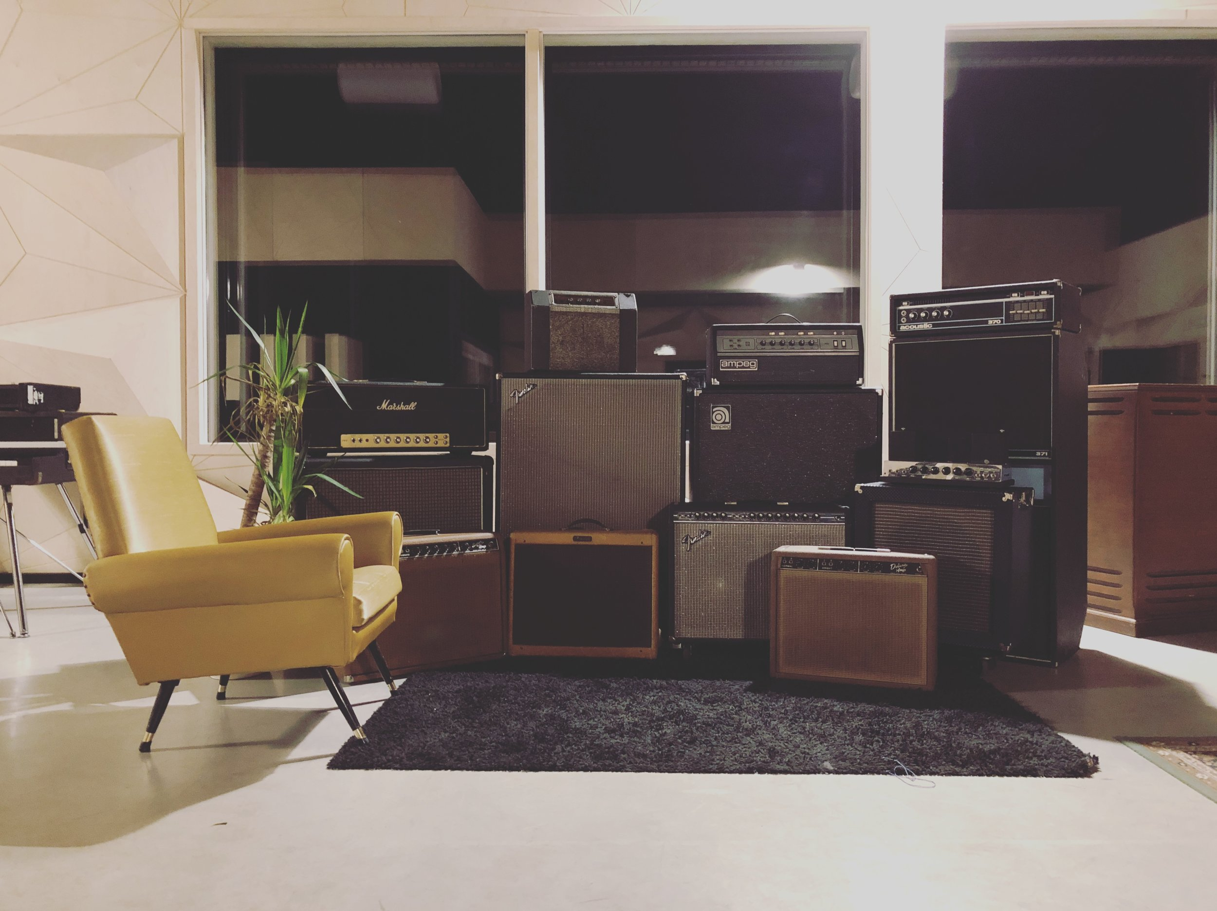 The wall of sound.