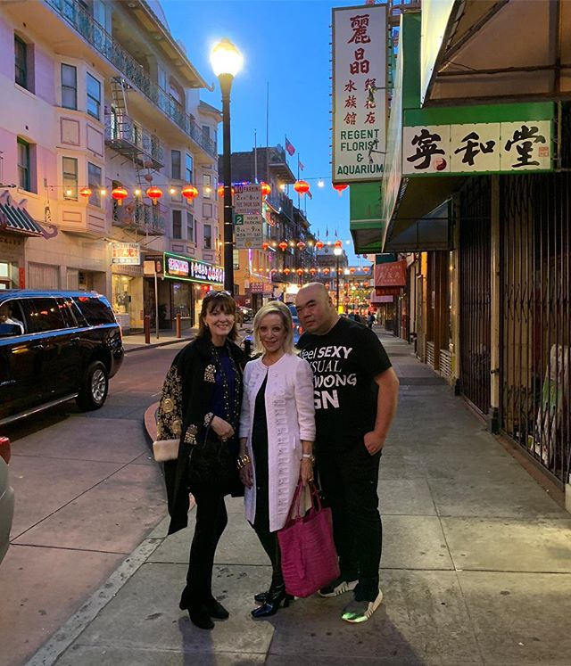 Love China Town nights with @andrewgn_designer and @barbarabodebrown 🉐🉐🉐