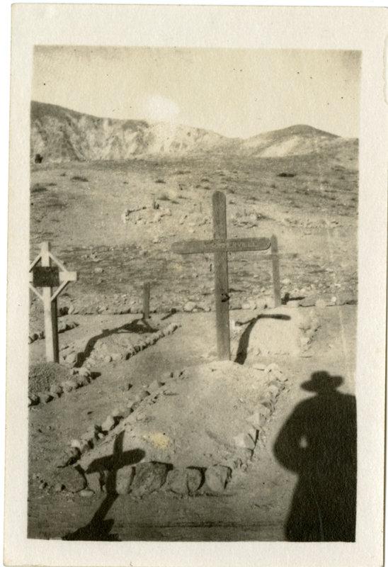 Graves in the desert
