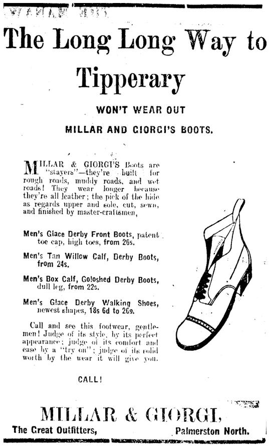 Manawatu Standard, Volume XLI, Issue 10051, 22 April 1915, Page 3