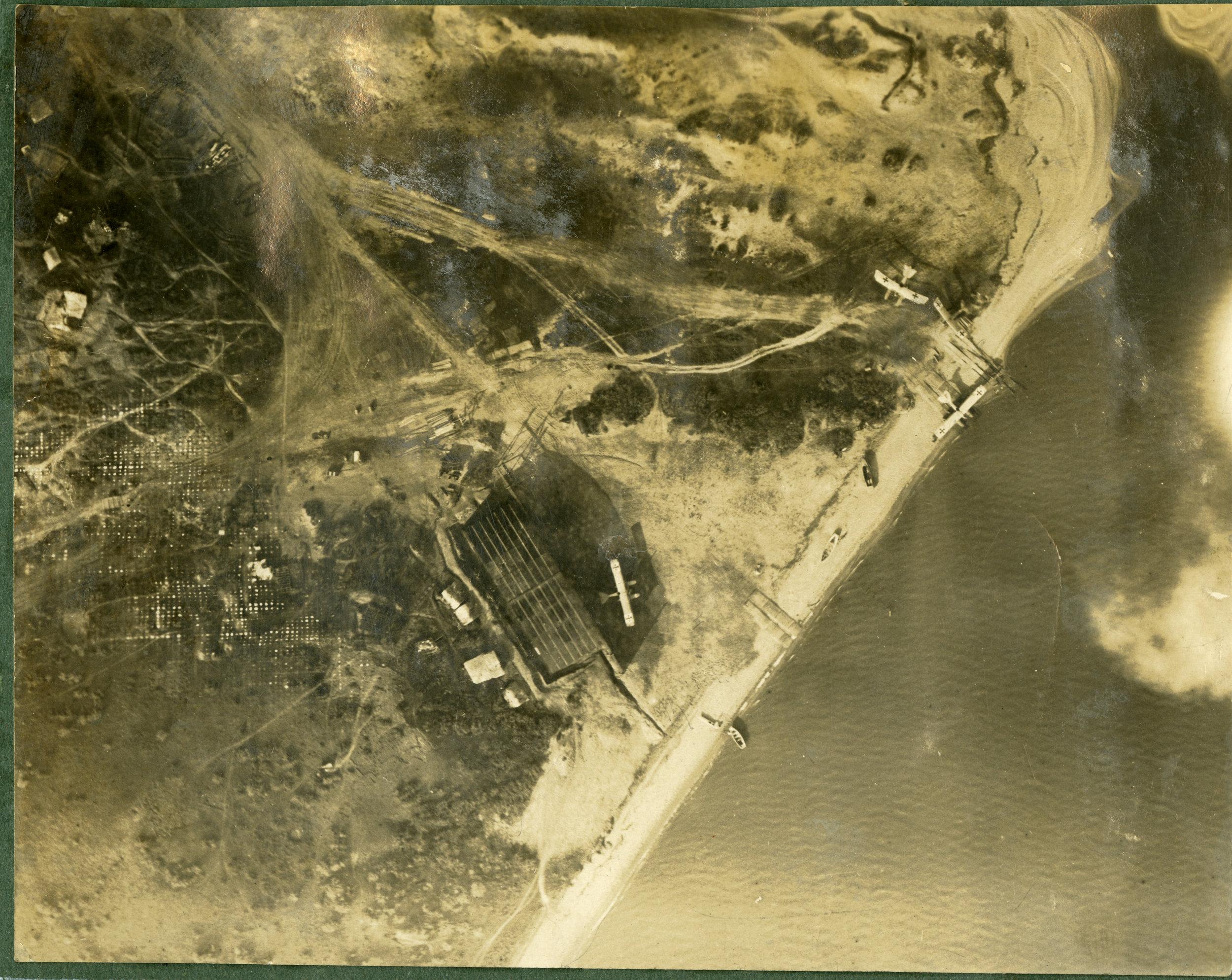 """""""Hun seaplanes. Gereviz. Taken from 2000 ft."""""""