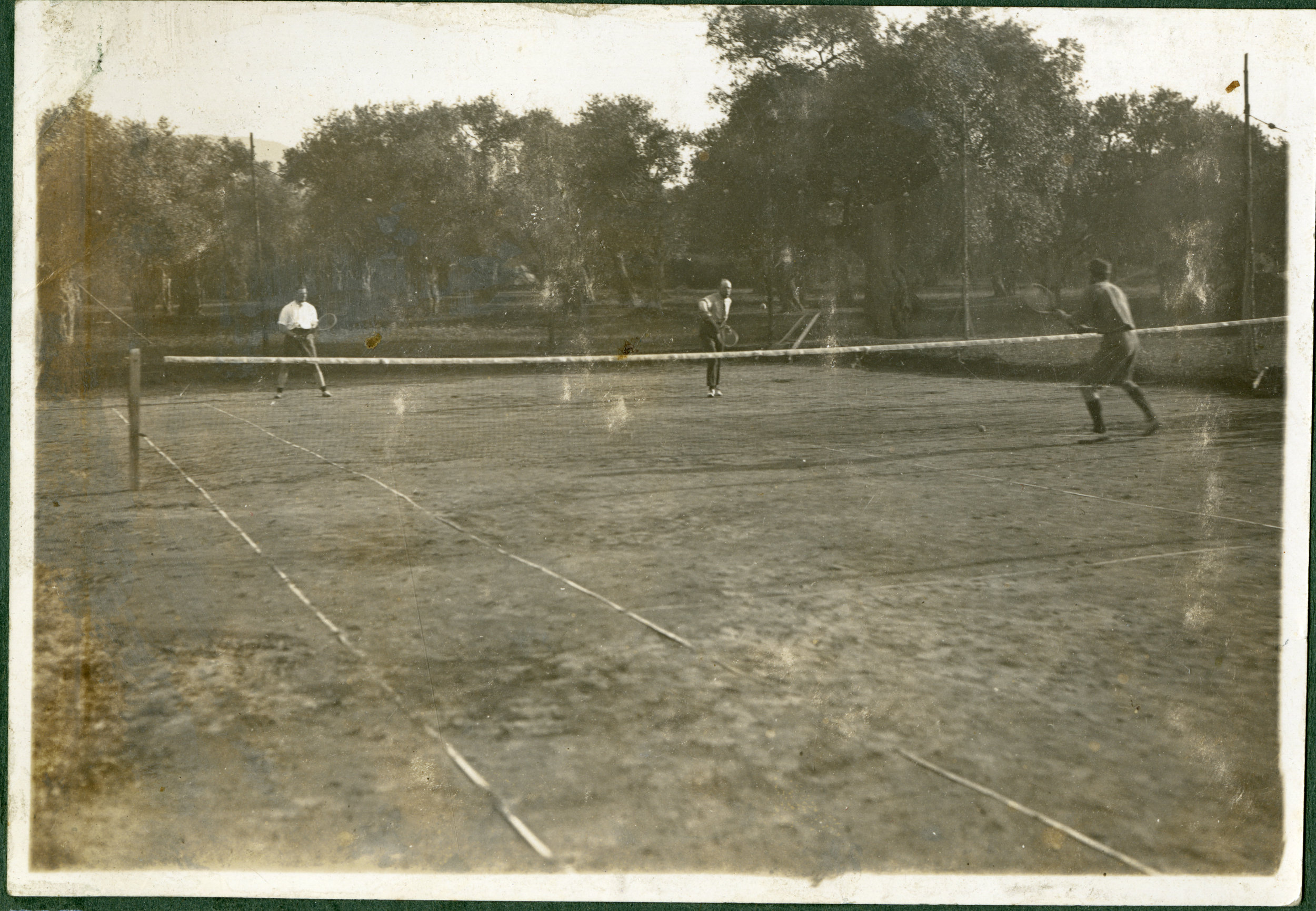 """""""On the courts, Thasos."""""""
