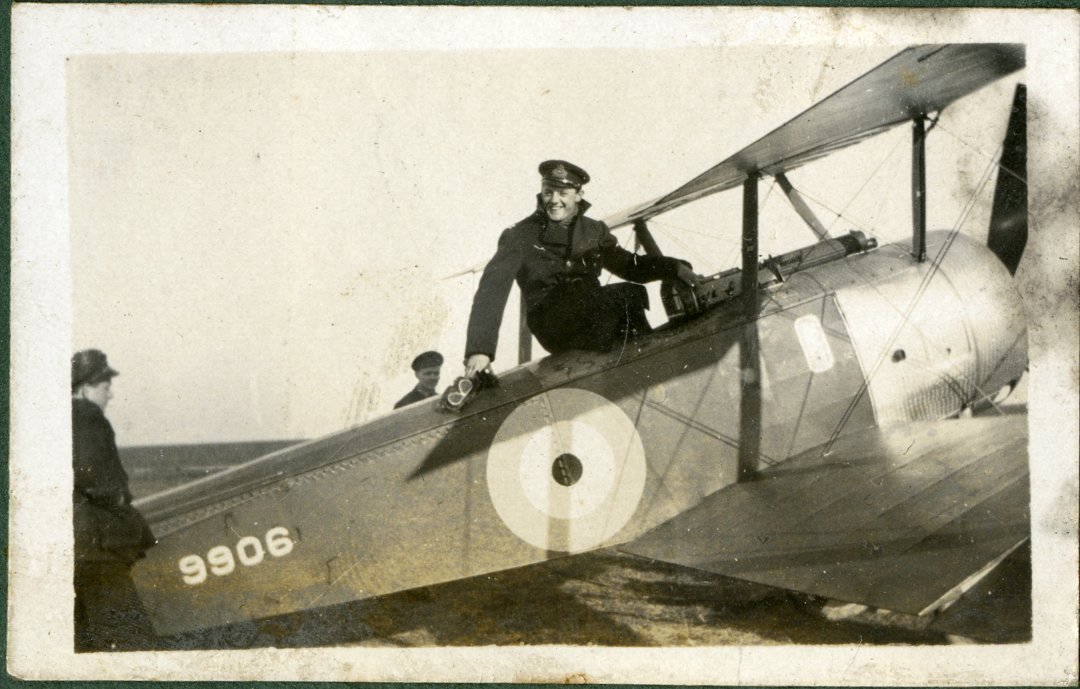 """""""Squadron Com Druper on [illegible]"""""""