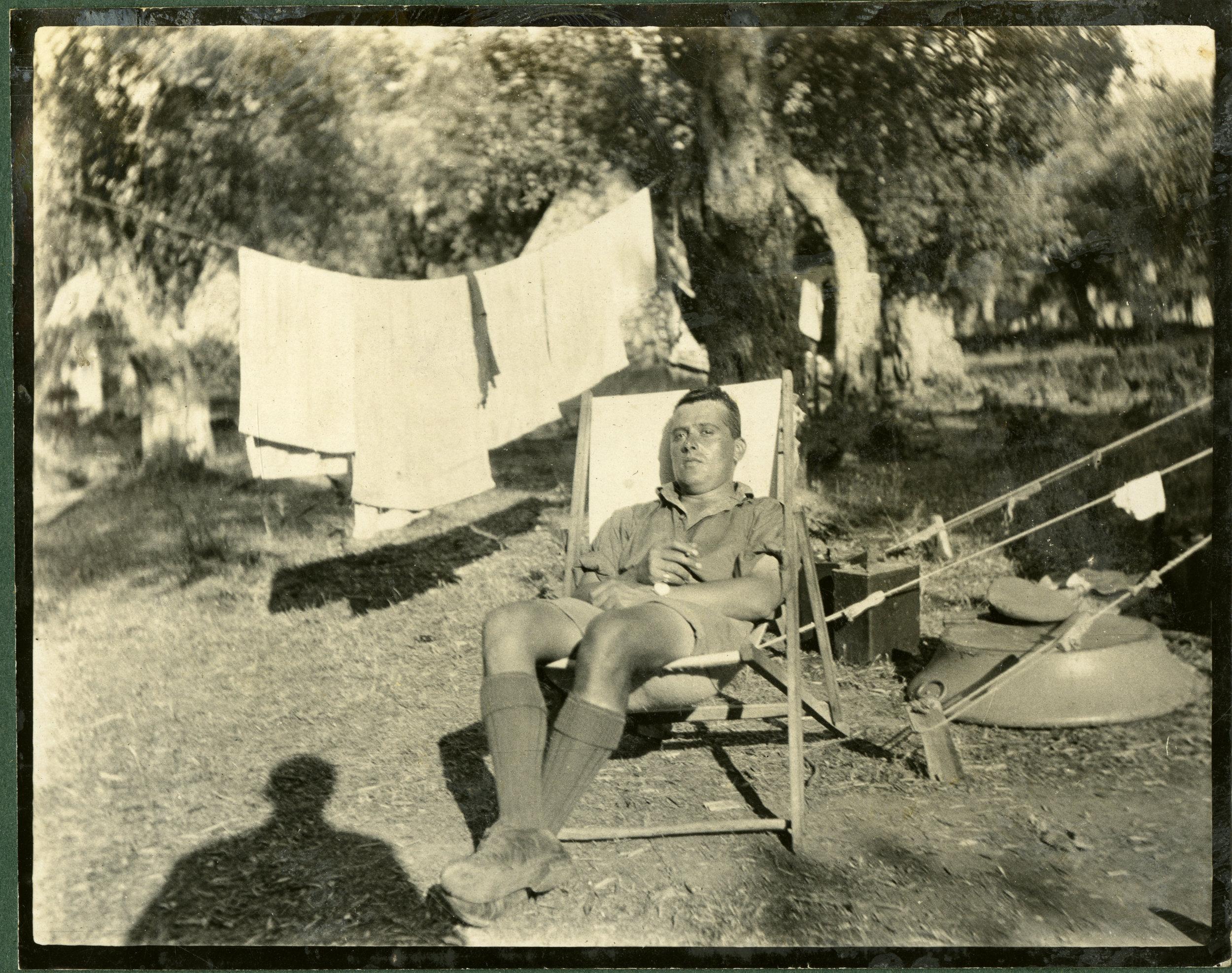 """""""Camp life at Thasos"""""""