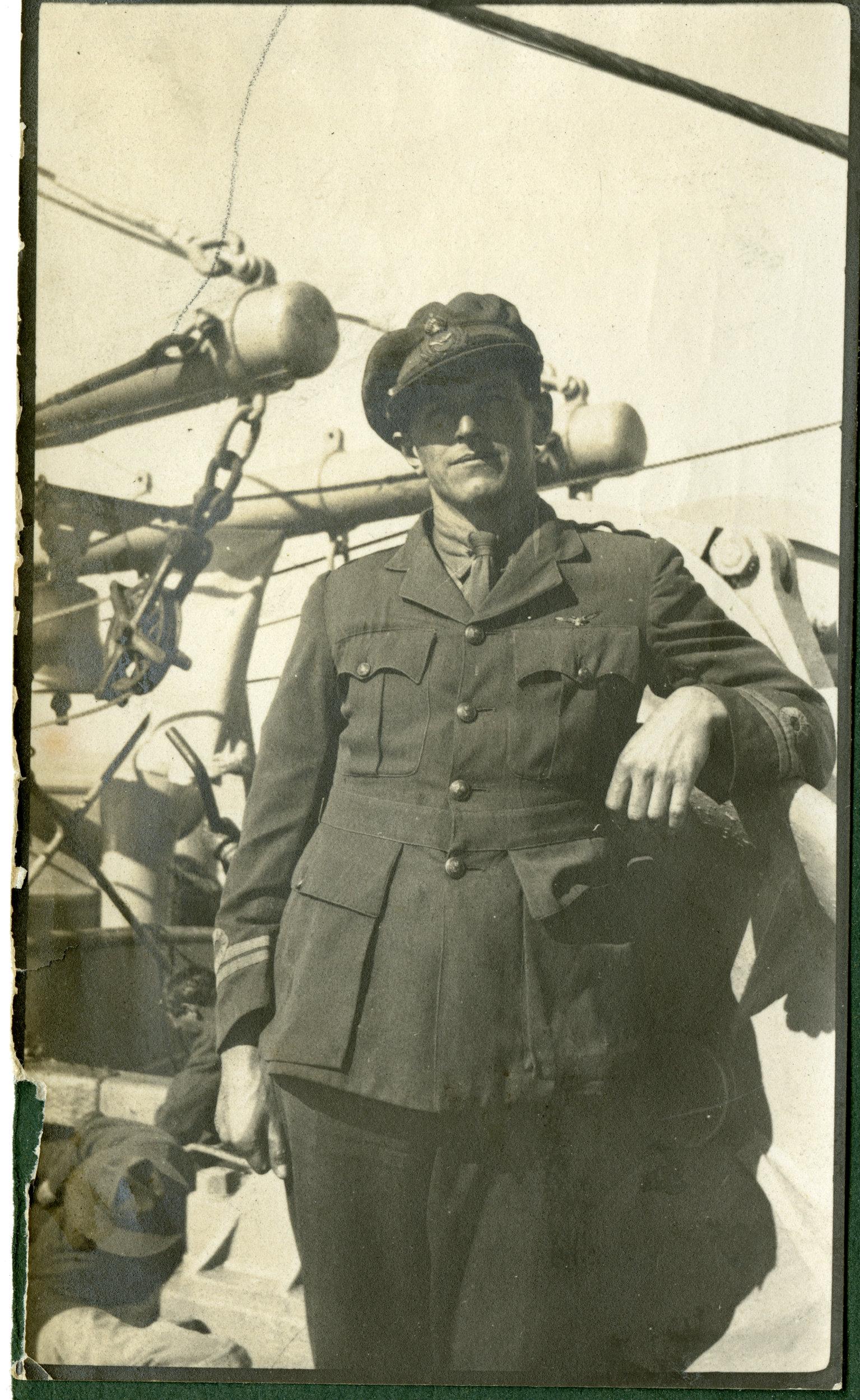 """""""Lieut. Grey Adjutant, Sling Camp"""""""