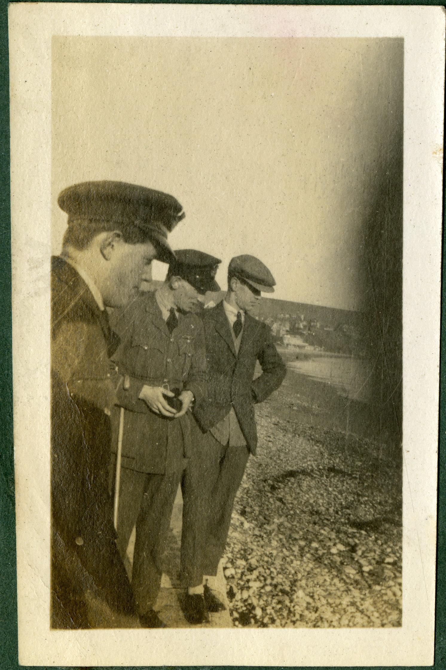 """On Swanage Beach. 1920."""