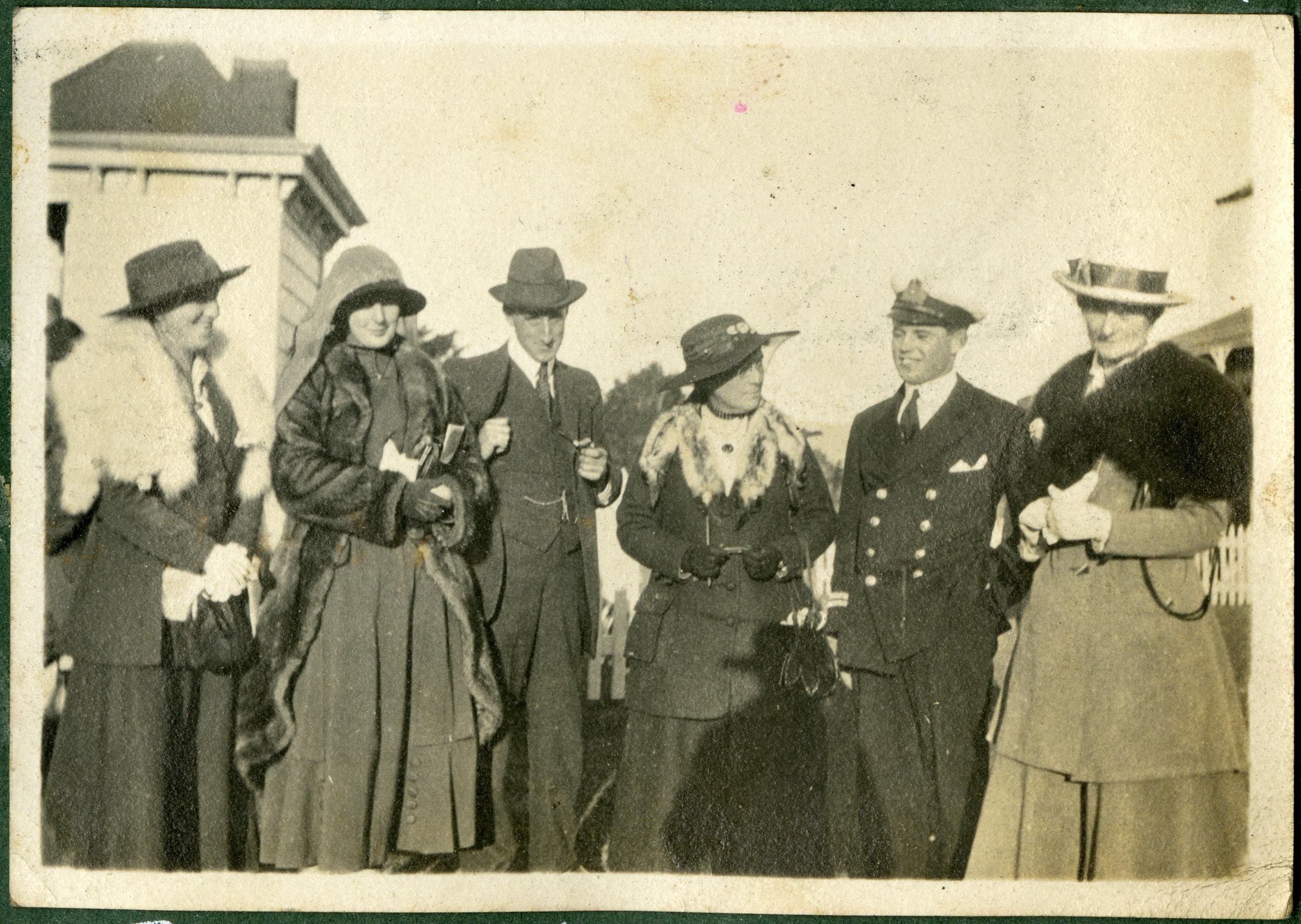 Otaki. Races. On Leave. 1918.
